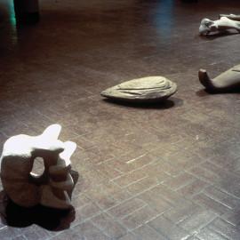 Detail of Flotsam, 1993 by Artist John Greer