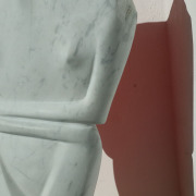 sculpture based on an ancient cycladic artefact