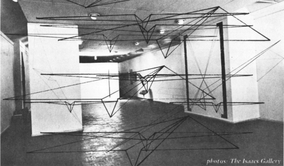 The Isaacs Gallery, John Greer, exhibition 1970